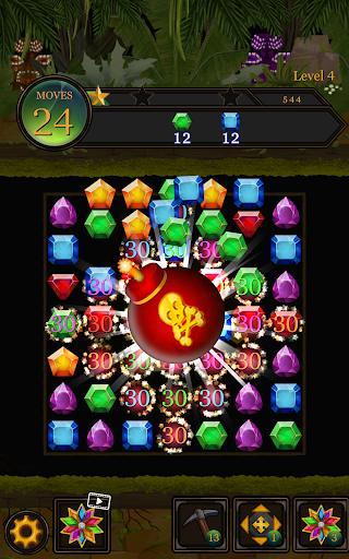 Secret Jungle Pop : Match 3 Jewels Puzzle 1.2.5 screenshots 10