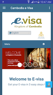 Cambodia eVisa- screenshot thumbnail