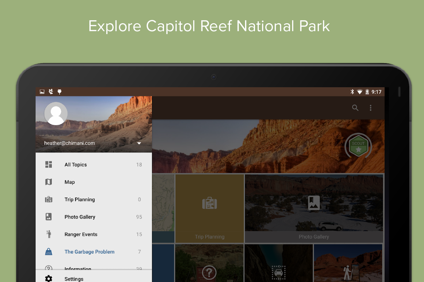 Capitol Reef NP by Chimani- screenshot