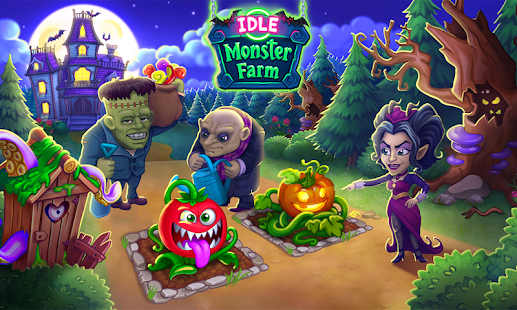 Monster Farm: Happy Halloween Game & Ghost Village Mod