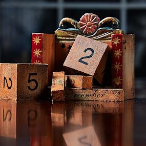 Forever Calendar by Svemir Brkic - Artistic Objects Antiques ( christmas, calendar,  )