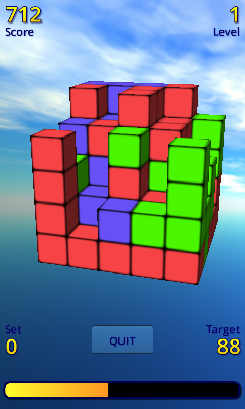 Color Cubes Free - screenshot