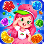 Strawberry Princess Cookie Match 3 Icon
