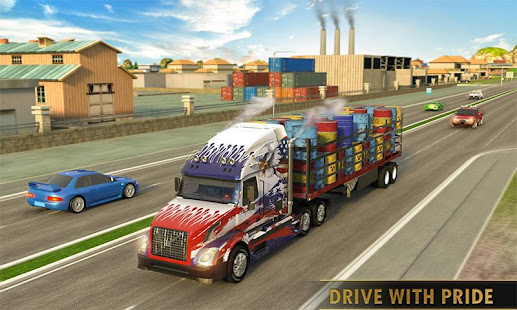 Euro Truck Driving Simulator Truck Transport Games мод
