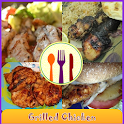 Grilled Chicken Recipes Book icon
