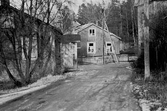 Photo: Mäkimatinkatu 1950-luvun alussa