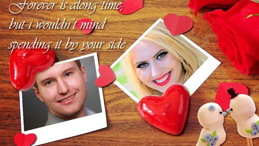 Screenshot for Romantic Love Photo Frames in Hong Kong Play Store