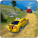 Offroad Taxi Car Driving 2019: Driving Games Free icon