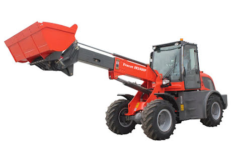 Everun ER2500F | 4x4 | 75hk | Lyfter 2500kg | Teleskoplastare