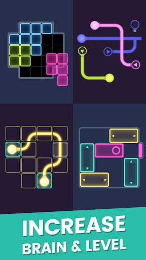 Puzzle Glow : Brain Puzzle Game Collection 2.0.20 de.gamequotes.net 2
