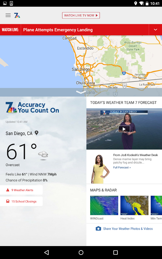 NBC 7 San Diego- screenshot