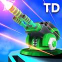 Strategy - Galaxy glow defense icon