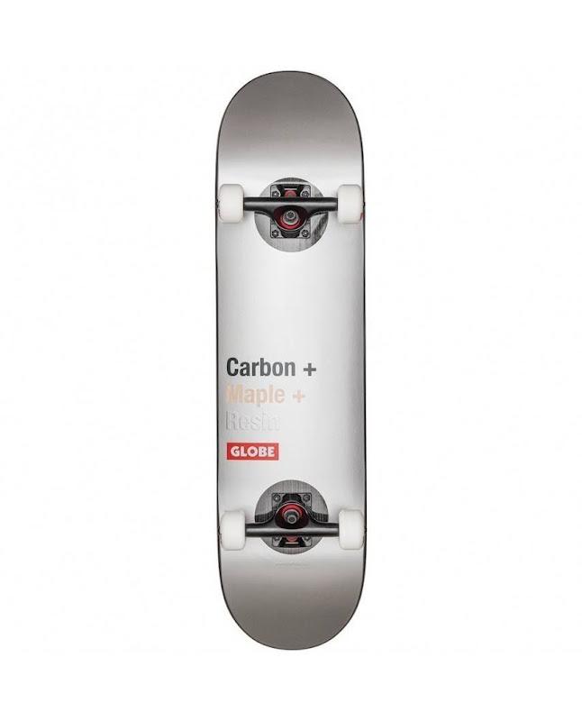skateboard - Globe G3 Bar - impact silver 8.125