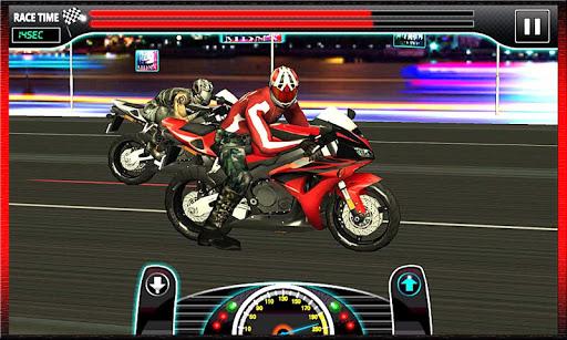 ドラッグレース:ヘビーバイクバージョン