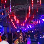 incredible decor and light show at Uniun Nightclub in Toronto in Toronto, Ontario, Canada