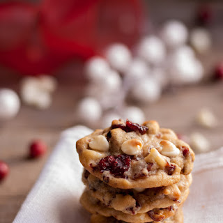 Soft & Chewy White Chocolate Cranberry Cookies