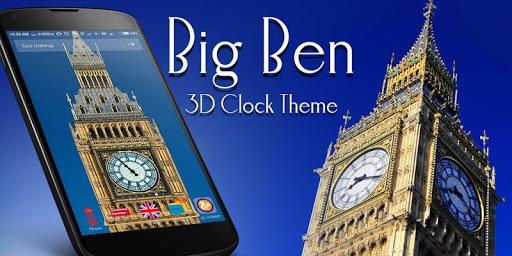 玩免費個人化APP|下載ロンドンビッグベン時計3Dのテーマ app不用錢|硬是要APP