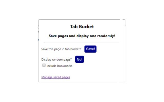 Tab Bucket
