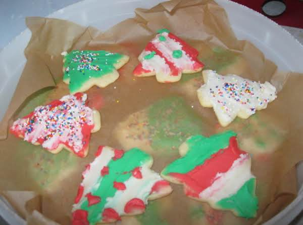 Christmas Sugar Cookies-until A Wreath Is Made!