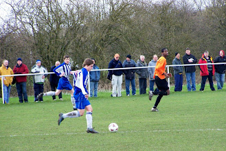 Photo: 14/03/09 v Thoresby CW (CMLP) 1-1 - contributed by Gary Spooner