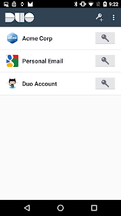 Duo Mobile Screenshot