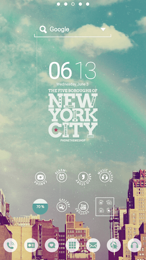 NEW YORK DodolLauncherTheme
