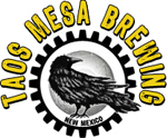 Logo for Taos Mesa Brewing's Taos Tap Room