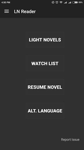 Light Novel Reading App Novels screenshot 1