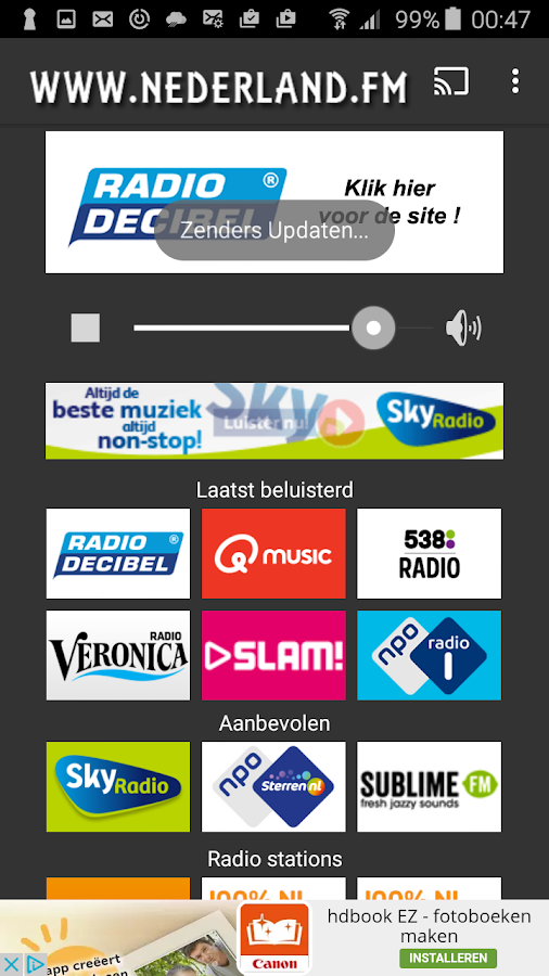 Nederland.FM- screenshot