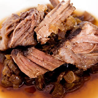 Slow Cooker Coffee Pot Roast.
