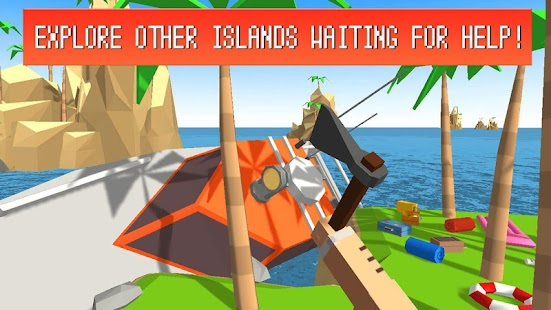 Pixel Island Survival 3D imagem 5