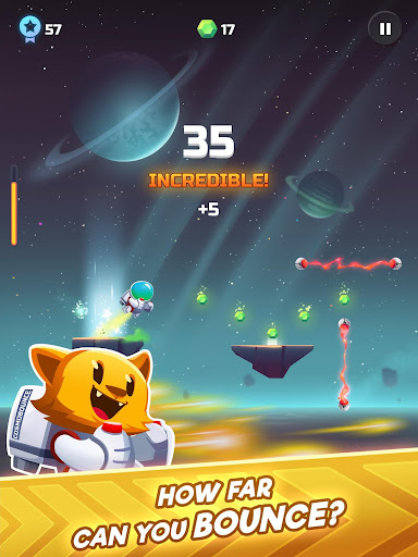 Cosmo Bounce - The craziest space rush ever! - screenshot