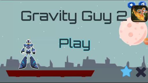 Flip Gravity Guy 2 - Super Running Game 1.1 androidappsheaven.com 1