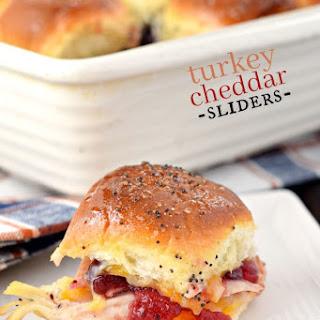 Turkey Cheddar Sliders