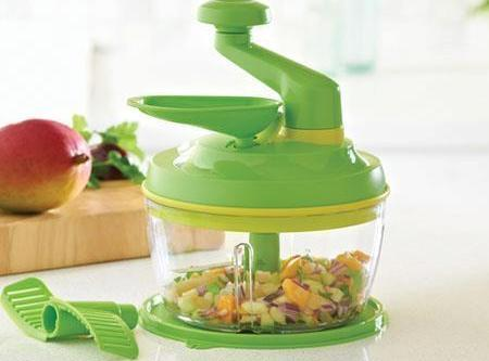 In a base of a Quick Chef Pro System or blender. combine onions, garlic,...