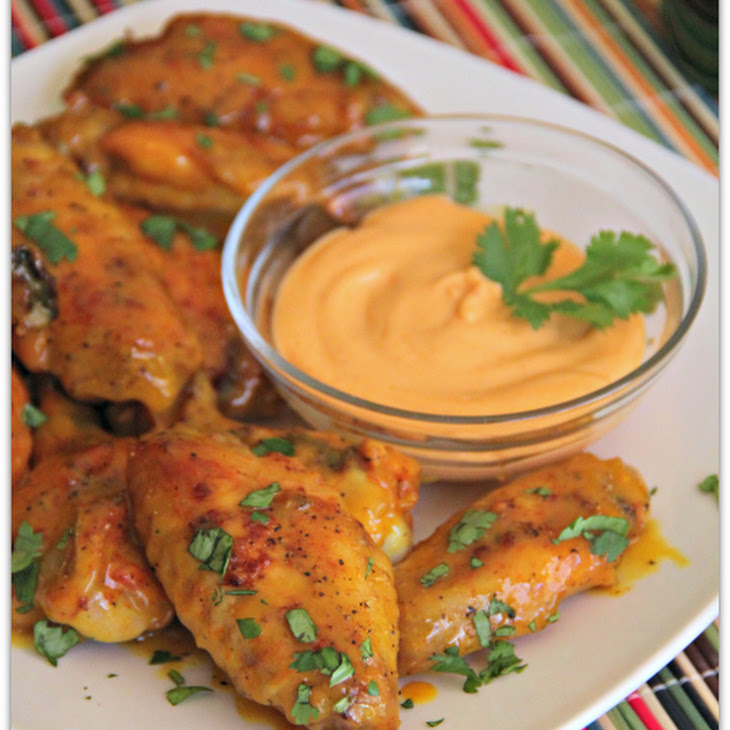 Honey Baked Pistachio Wings Recipes — Dishmaps