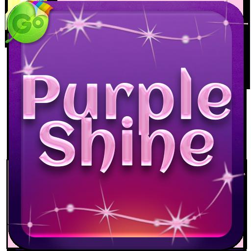 Purple Shine Keyboard
