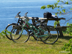 Photo: Biking at Burton Island State Park by Matt Parsons