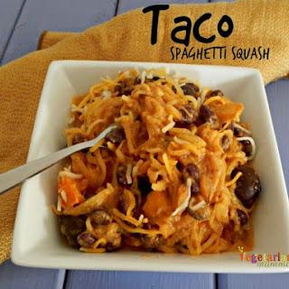 Taco Spaghetti Squash – Dinner made EASY!.