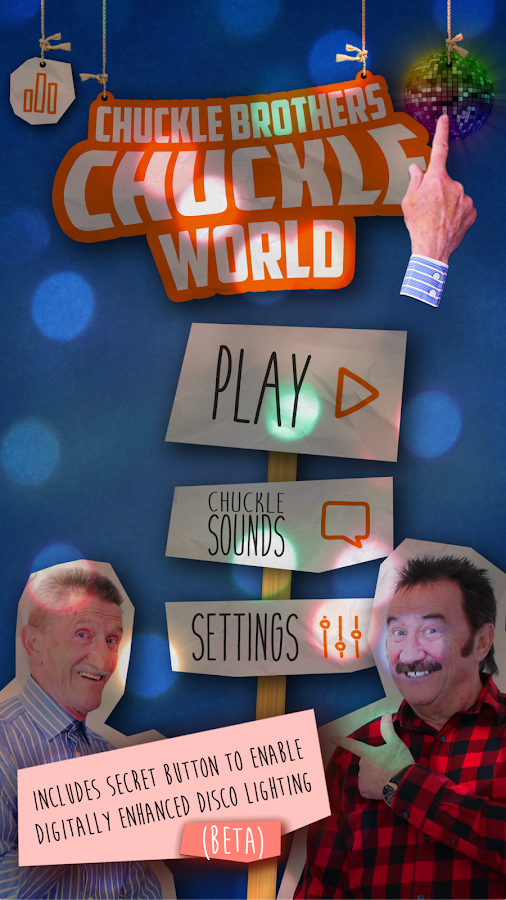 Chuckle Brothers CHUCKLE WORLD- screenshot