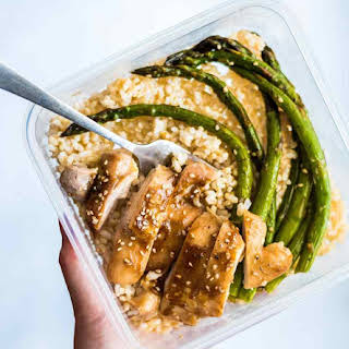 Sheet Pan Chicken and Asparagus.