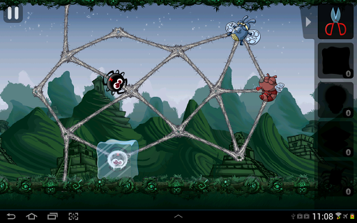 Greedy Spiders 2 Free - screenshot