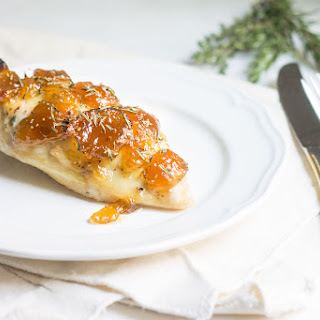 Easy Baked Chicken with Fig Preserves.