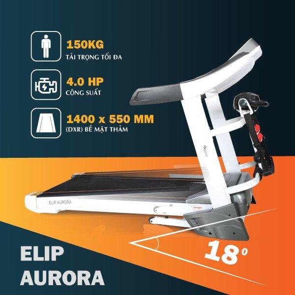 Top 5 máy chạy bộ chất lượng và tốt nhất của thương hiệu Elipsport - Ảnh 2