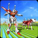 Village Farming Robot Transformation icon
