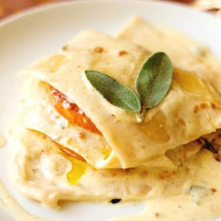 Open Ravioli With Butternut Squash and Amaretti