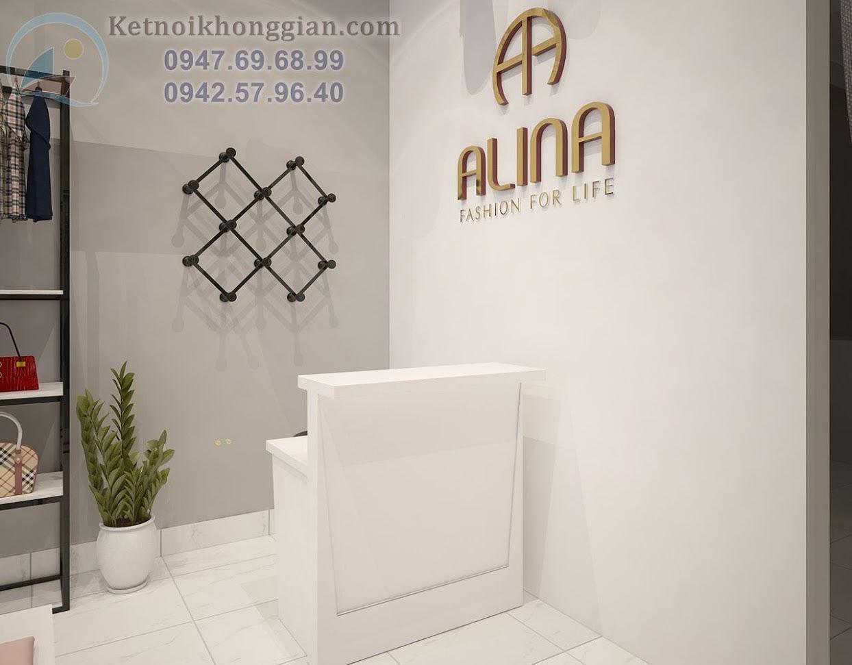 thiết kế cửa hàng thời trang công sở uy tín và sáng tạo