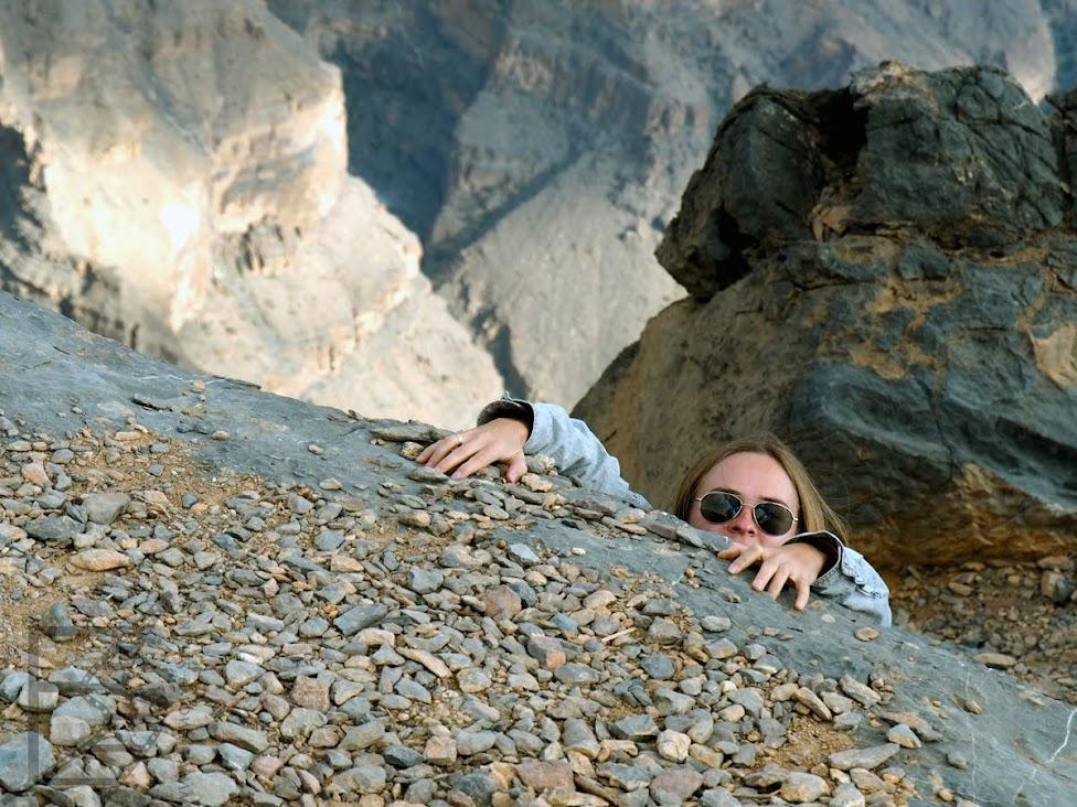 Natalia i Łukasz, filmowe-szlaki.pl, relacja z Omanu, Oman, Dżabal Szams