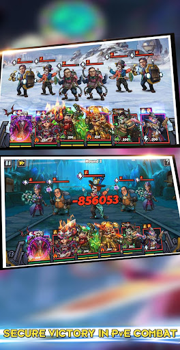 Clone Evolution: RPG Battle-Future Fight Fantasy - screenshot