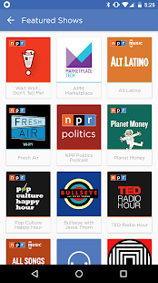 NPR One- screenshot thumbnail